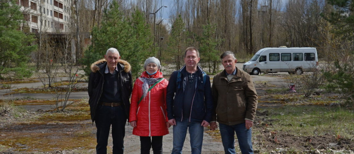 Roses planted in Pripyat for 35th anniversary of Chernobyl