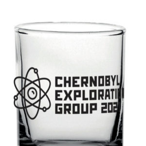 Chernobyl Exploration Group 2021 limited edition shot glass